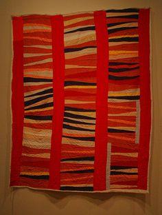 red wedges by margarita azucar, via Flickr gees bend
