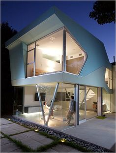 Retro house - form and spatial quality