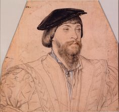 Thomas, 2nd Baron Vaux, c.1533, by Hans Holbein the Younger