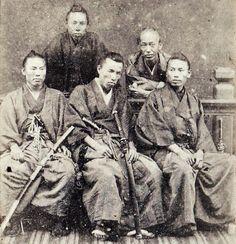 A group of samurai.