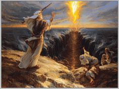 moses and the red sea | Moses_at_the_Red_Sea(1).gif