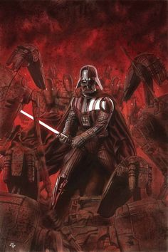 Darth Vader #4 cover by Adi Granov #comics #art