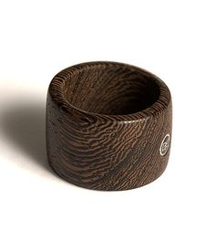 Men's Wenge Ring, unique guy's gift, handmade, wood ring, urban style