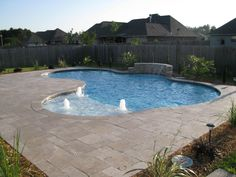 1000 images about pool on pinterest gunite pool pool - Crystal pools waterfall ...