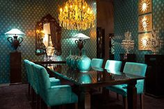Luxury Furniture & Design: Guardarte SA from Spain. Dramatic Dining.