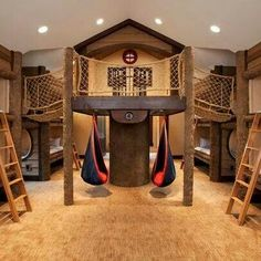 Bedroom/Clubhouse, this could be done in a basement. ~CLT