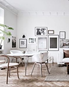 my scandinavian home: All Hail the Beautiful Parquet Floor! (photo. Alen Cordic).