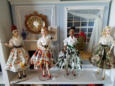 The Studio Commissary: Holiday Magic...(5 PICS)  -  Posted by Larry in TX [Email User] on December 15, 2016, 1:14 pm.  Picture shows Christmas Skirt Parade.