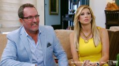 David arrives at the Bellino homestead. Jim lets him in. When Alexis sees David she is surprised. No one told her David Tutera was coming to her house... Read more and join in at: http://www.allaboutthetea.com/2014/09/06/david-tuteras-celebrations-recap-s1e5/