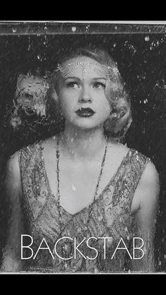 Hair/makeup by Seattle Bride Hair #BackStab #rachellehenry #hair #makeup #movies #wedding #bride #editorial #beauty #retro #1930 #bridesmaid #flapper #vintage #fingerwave #pincurls