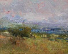 "Evening Glow by Simon Addyman Oil ~ 8"" x 10"""