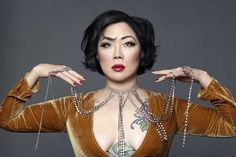 """Loud and unapologetic, and a trailblazer on race and sexuality, the stand-up comic discussed """"cancel culture,"""" Asian American comedy and her short-lived sitcom All-American Girl. All American Girl, Asian American, American Women, Phoenix Things To Do, Margaret Cho, Professional Women, Daily Fashion, Comedians, Inventions"""