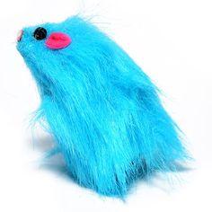 Ratinho Pano Rockin Azul Jambo Pet - Meuamigopet.com.br #cat #cats #gato #gatinho #bigode #muamigopet