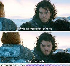 Go Cry, Jon Snow