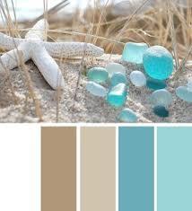sand beige, aqua
