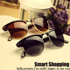 free shipping 2013 male sunglasses fashion vintage sunglasses metal box women's glasses $417,17