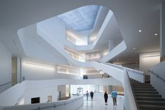 Gallery of Visual Arts Building at the University of Iowa / Steven Holl Architects - 4