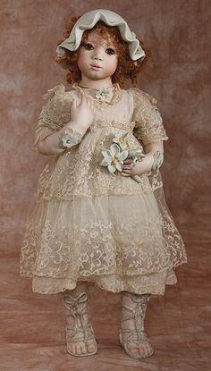 Annette Himstedt Vinyl Dolls, Porcelain Dolls & Artist's Proof at The Toy Shoppe Annette Himstedt, Vinyl Dolls, Old And New, Artist, Clothes, Beautiful, Dresses, Wood, House