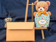 Invitatie ursulet de plus 3625b by InvitatiiCreative.deviantart.com on @DeviantArt Deviantart, Gift Wrapping, Teddy Bear, Gifts, Animals, Products, Gift Wrapping Paper, Presents, Animales