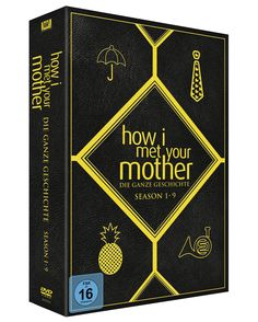 How I met your Mother - Season 1-9 Complete Box exklusiv bei Amazon.de Limited Edition 29 DVDs: Amazon.de: DVD & Blu-ray