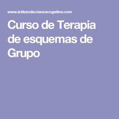 Curso de  Terapia de esquemas   de Grupo
