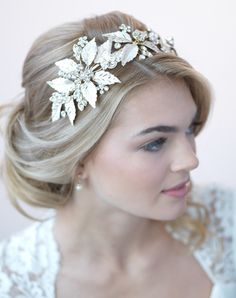 Monique Gold Leaf Headband