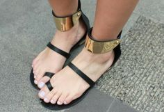 nice for summer #shoes #ROMWE