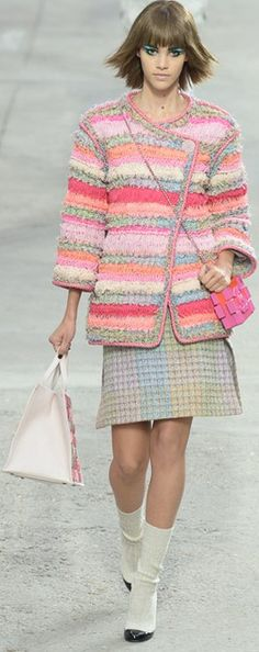 Chanel, S/S 2014, RTW, PFW, Paris Fashion Week