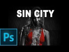 Efecto Sin City - Tutorial Photoshop en Español por @Prisma Tutoriales - YouTube
