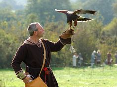 Falconry at the Battle of Hastings Reenactment October 2004 #4 by Tancread, via Flickr