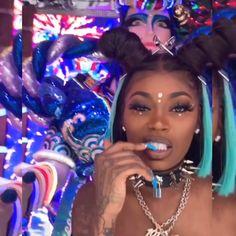 Ig Girls, Girls Rules, Asian Doll Makeup, Black Women Hairstyles, Cute Hairstyles, Black Girl Magic, Black Girls, Bratz Doll, Dolls