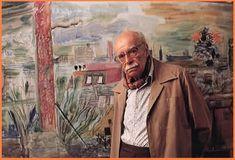 Νίκος Χατζηκυριάκος-Γκίκας - Το χαλί όπου παίζαμε ήτανε κόκκινο Most Beautiful, Painting, Greeks, Artists, Modern, Books, People, Trendy Tree, Libros