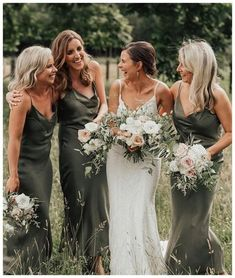 Spaghetti Straps Long Olive Green Long Bridesmaid Dresses for Wedding Party sold by Wedding. Shop more products from Wedding on Storenvy, the home of independent small businesses all over the world. Wedding Bells, Boho Wedding, Dream Wedding, Khaki Wedding, Party Wedding, Wedding Party Dresses, Summer Wedding, Wedding Rustic, Olive Green Bridesmaid Dresses