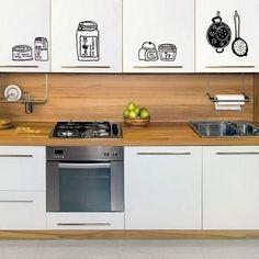 Las 9 mejores imágenes de Vinilos decorativos para cocinas ...