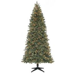 Home Accents Holiday 7 ft. Pre-Lit Benjamin Quick Set Tree with Clear Lights-BOPT863400CL at The Home Depot