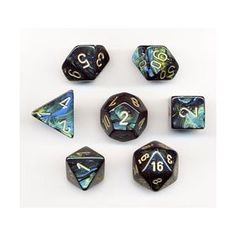 polyhedral dice for Dungeons and Dragons.  I still play every Saturday.