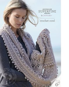 Cleckheaton Crochet Cowl – Yarn Glorious Yarn
