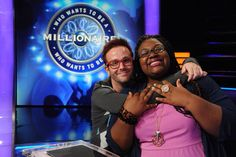 Today, contestant Jeanell Allen has a great +1 lifeline by her side, Sean Drohan, who played last week and won $50,000. Now, she wants him to share the love. Will Jeanell join Sean in a new tax bracket? Tell us what you think, then check out Monday's all-new #MillionaireTV with host Chris Harrison. Find your station at MillionaireTV.com.