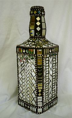 Mosaic Mirror Bottle