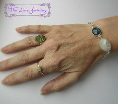 beautiful ‪#‎moldavite‬ ring classic and ‪#‎elegant‬ opal ring ‪#‎moonstone‬ and ‪#‎labradorite‬ bracelet found at www.thelurejewellery.co.uk Moonstone Ring, Opal Rings, Layered Chains, Neck Chain, Anklets, Labradorite, Sterling Silver, Elegant, Classic