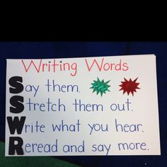 Lucy Calkins Writing Words, spelling.writing strategies