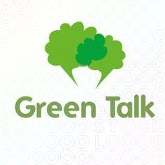 Green Talk logo