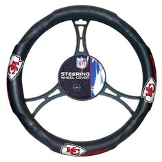 Kansas City Chiefs NFL Steering Wheel Cover