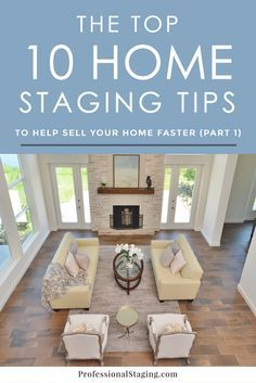 Home Staging TIPS ~Staging is proven to be one of the MOST Effective way to get your Home Sold Faster & for Top Dollar. Make your home more appealing to homebuyers #stage2sell #loveomni