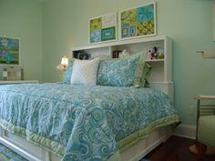 Serene Tween Girl's Bedroom Retreat - Design Dazzle