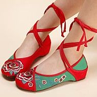 Women's Shoes Old Peking Ankle Strap Flat Heel Canvas with Flower Shoes. Get sizzling discounts up to 70% at Light in the box using Coupon and Promo Codes.