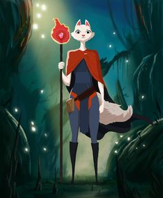 The Cat Sorcerer | Nicolas Rix | #thecatsorcerer #characterdesign #illustration