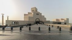 Eight years after IM Pei completed the Museum of Islamic Art in Doha, Yueqi Jazzy Li has produced a new set of images of the monumental build