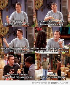 Chandler is clearly the reason I went into advertising.