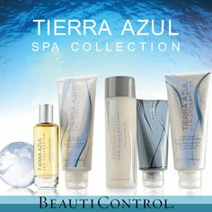 """Wash away the """"Monday Blues"""" with Tierra Azul Spa Collection from #BeautiControl"""